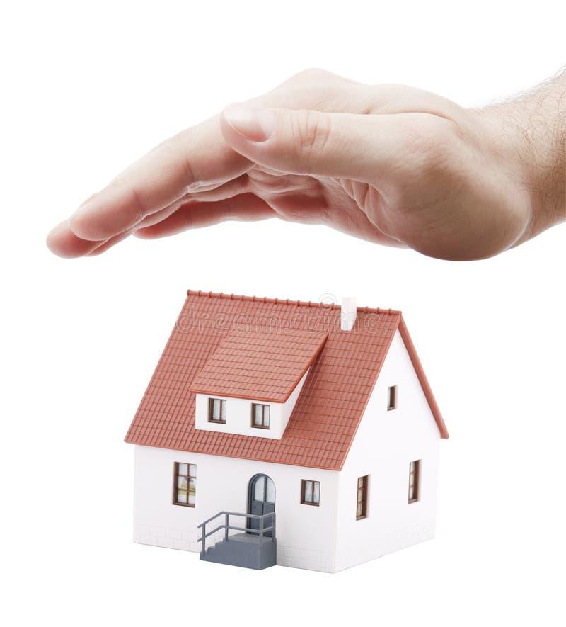 房子保护您 免版税库存图片