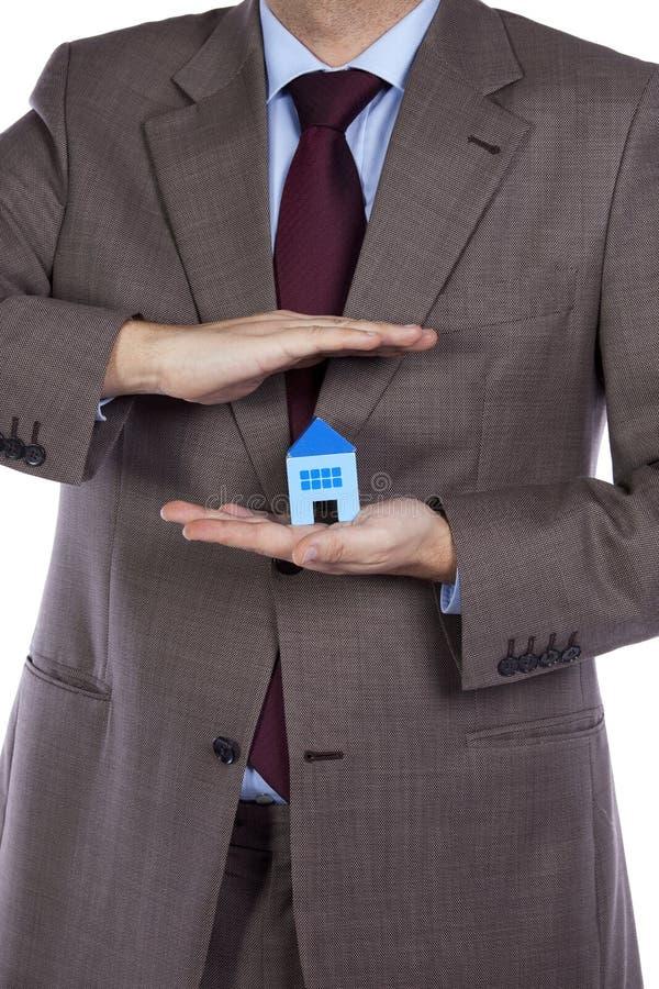 房子保险 库存图片