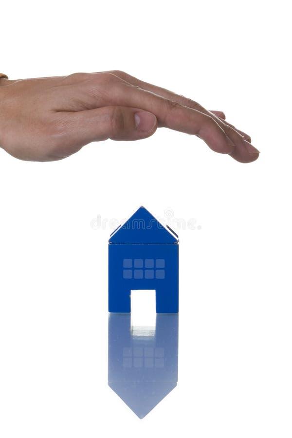 房子保险 免版税库存照片
