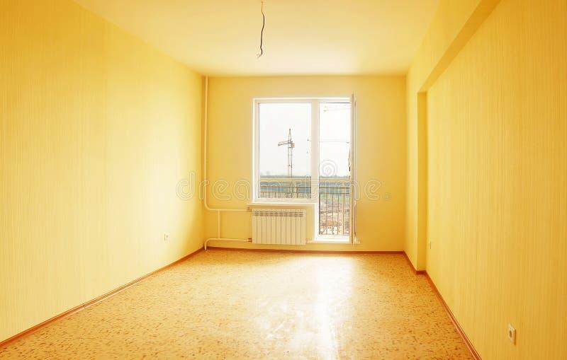 房子内部新的空间 库存图片