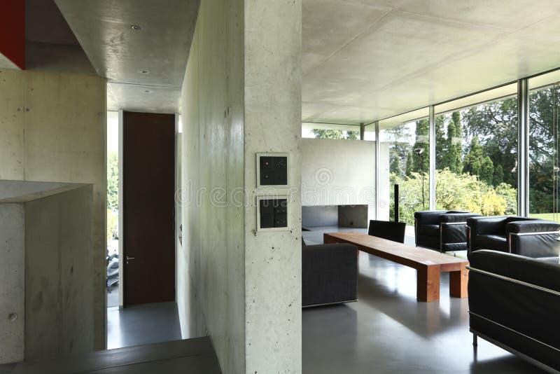 房子内部现代 图库摄影