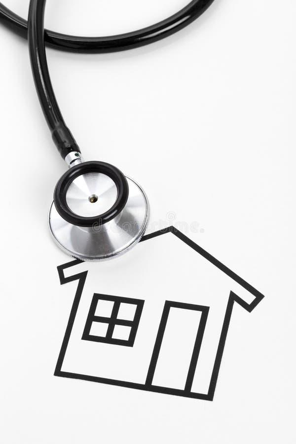 房子听诊器 免版税库存照片