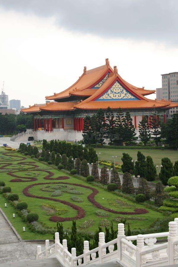 房子国家台湾剧院 库存照片