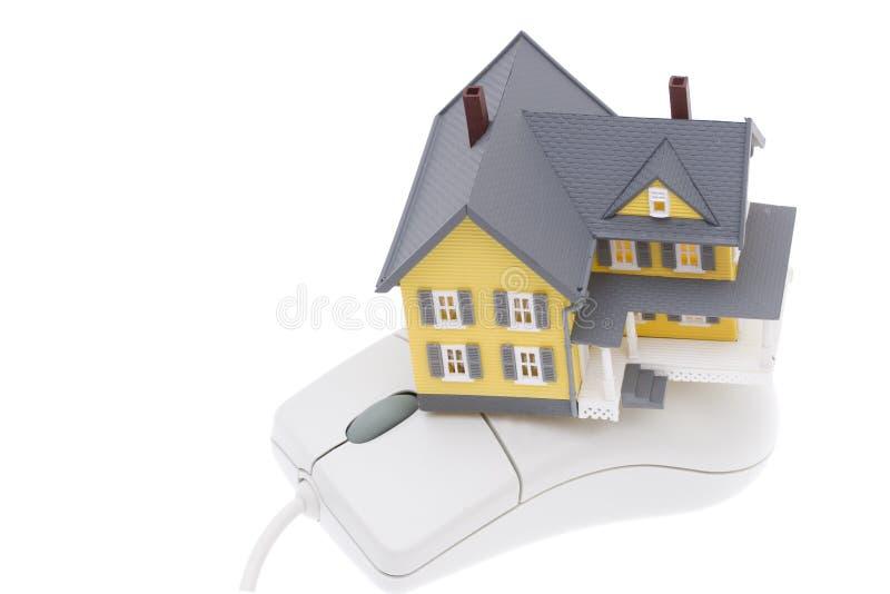 房子在线计划 库存照片