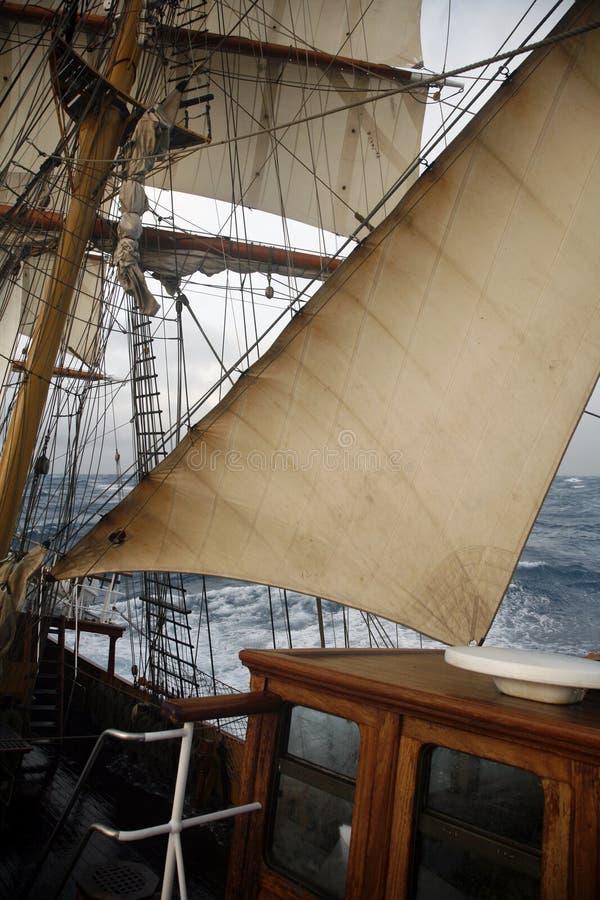 房子帆船轮子 图库摄影