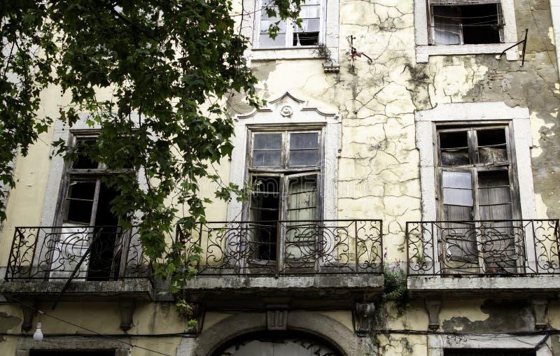 房子废墟 免版税库存图片