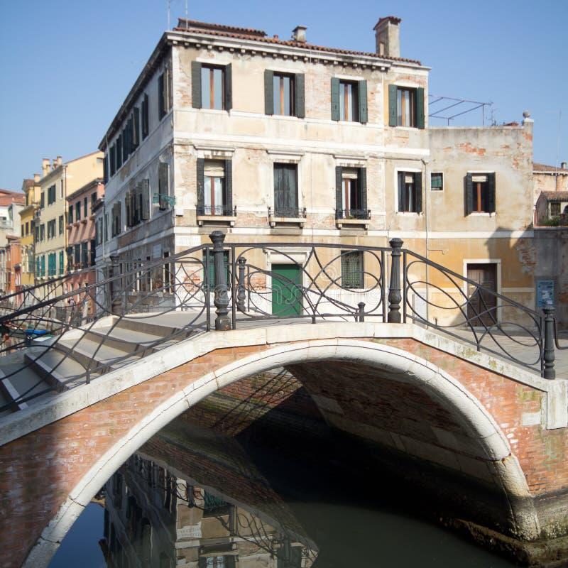 房子意大利老威尼斯 免版税库存图片