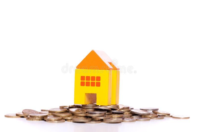 房子投资 免版税库存照片