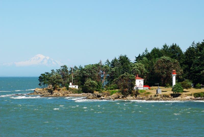 房子沿海地带 库存图片