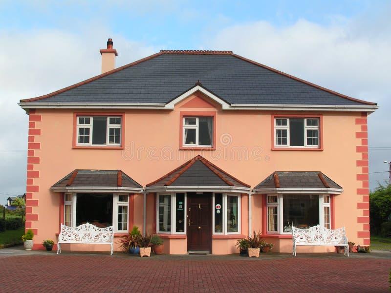 房子爱尔兰现代 库存照片