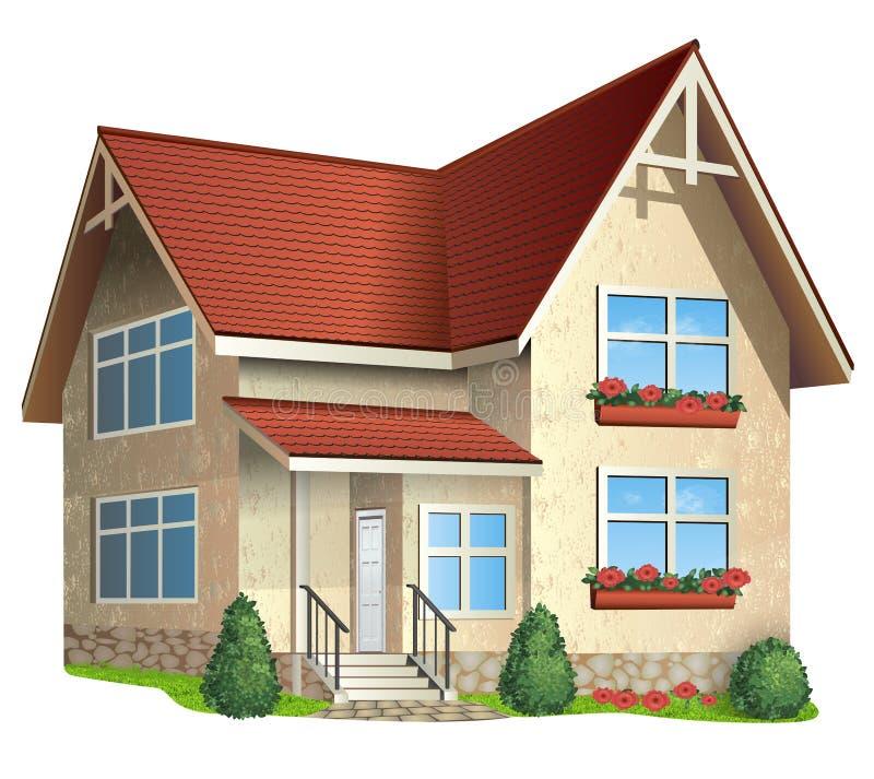 房子的例证 向量例证