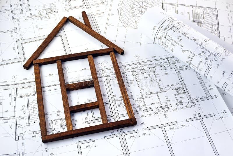房子的图象形式 免版税库存照片