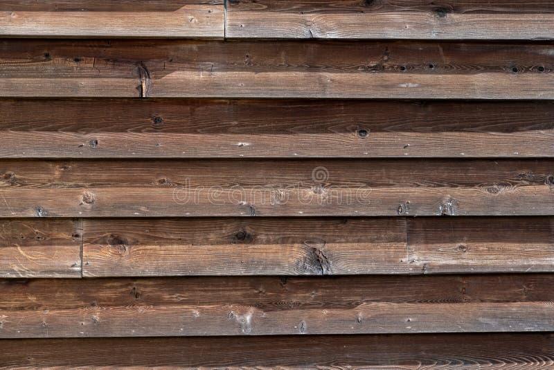 房子的老木纹理墙壁,木板条 图库摄影