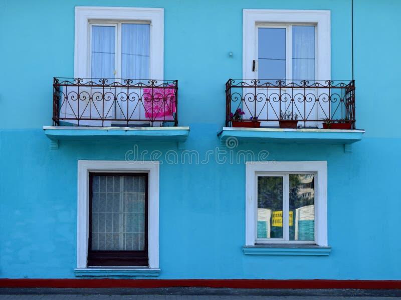 房子的门面 免版税库存图片