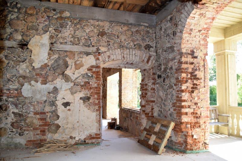房子的整修 库存照片