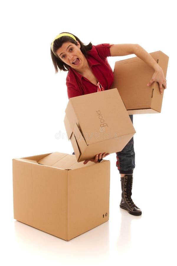 房子移动 库存照片