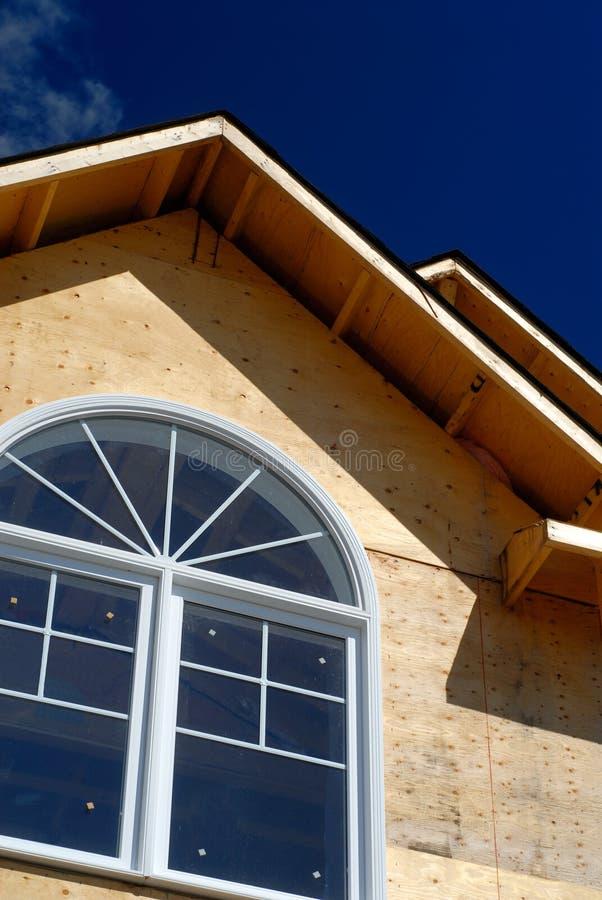 房子线路屋顶 库存照片