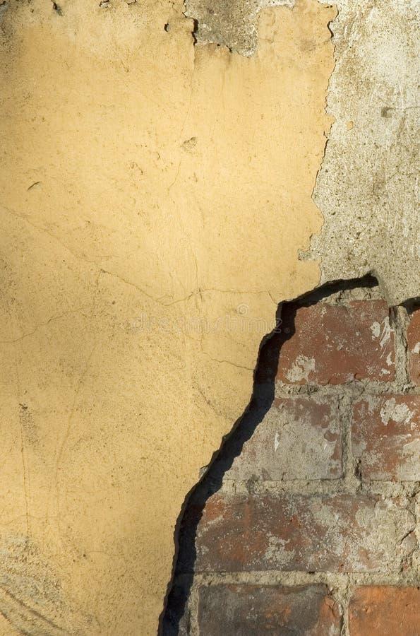 房子老墙壁 免版税库存照片