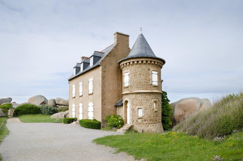 房子老维多利亚女王时代的著名人物 免版税图库摄影