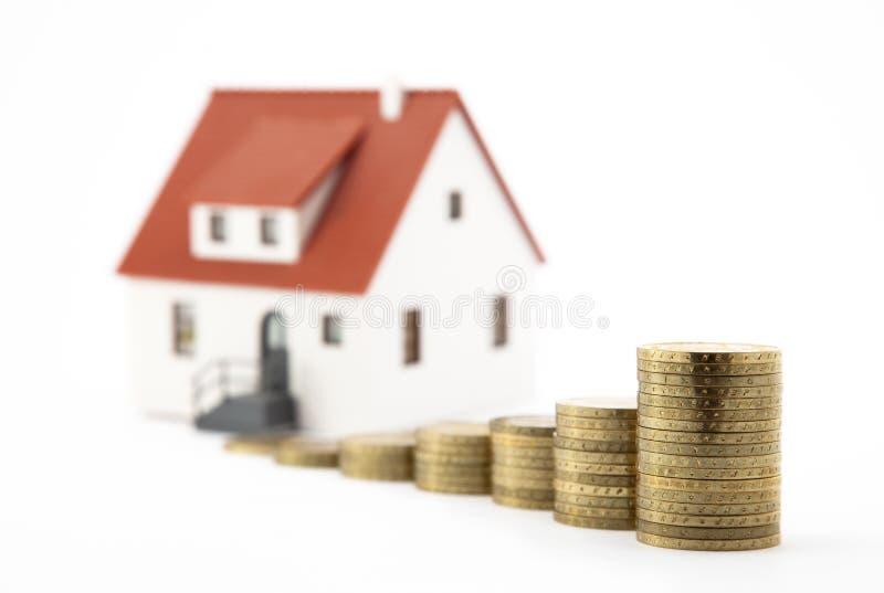 房子货币 免版税库存图片