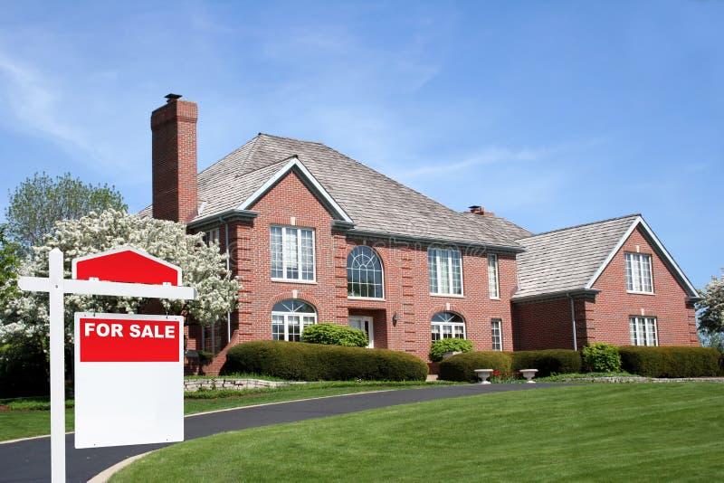 房子销售额 免版税库存照片