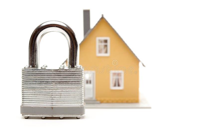 房子锁定 库存照片
