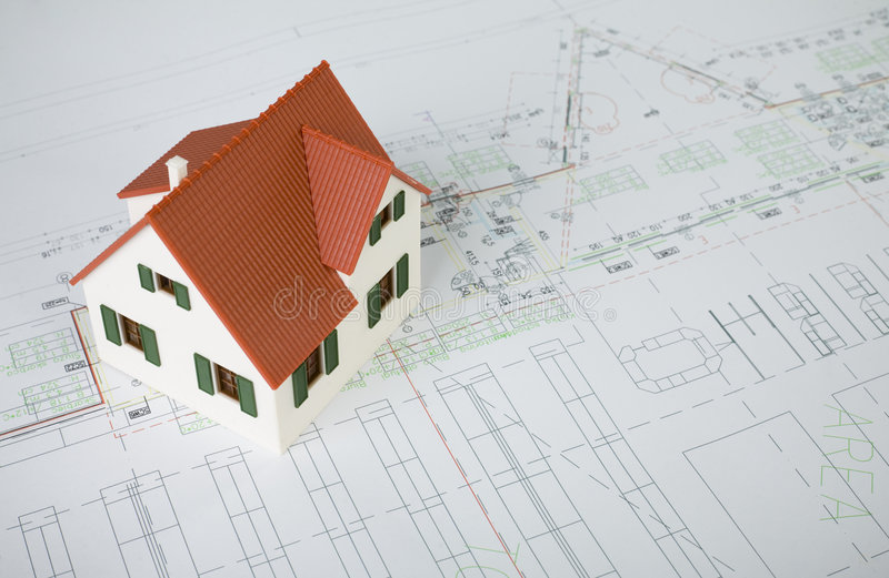 房子项目 免版税库存图片