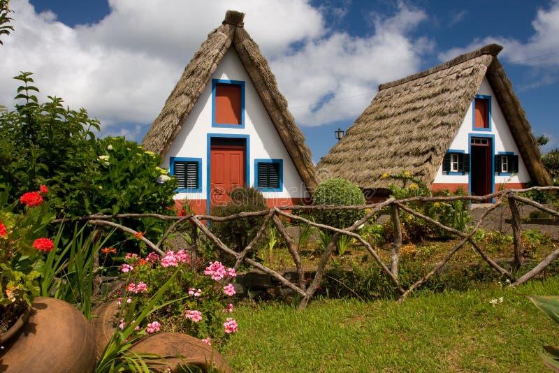 房子马德拉岛 图库摄影