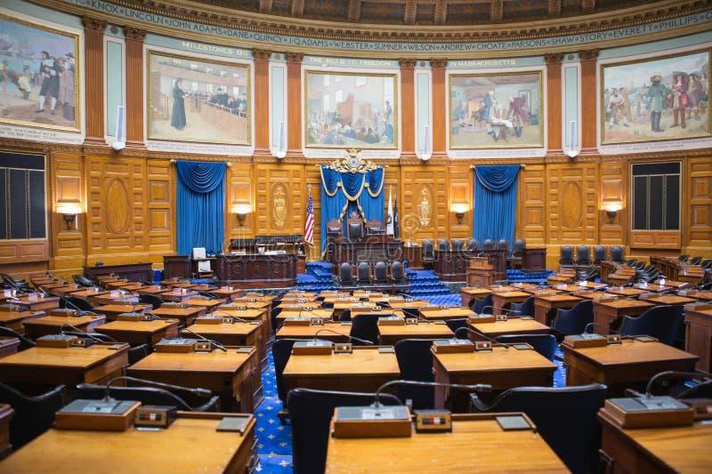 房子马萨诸塞状态 免版税库存照片