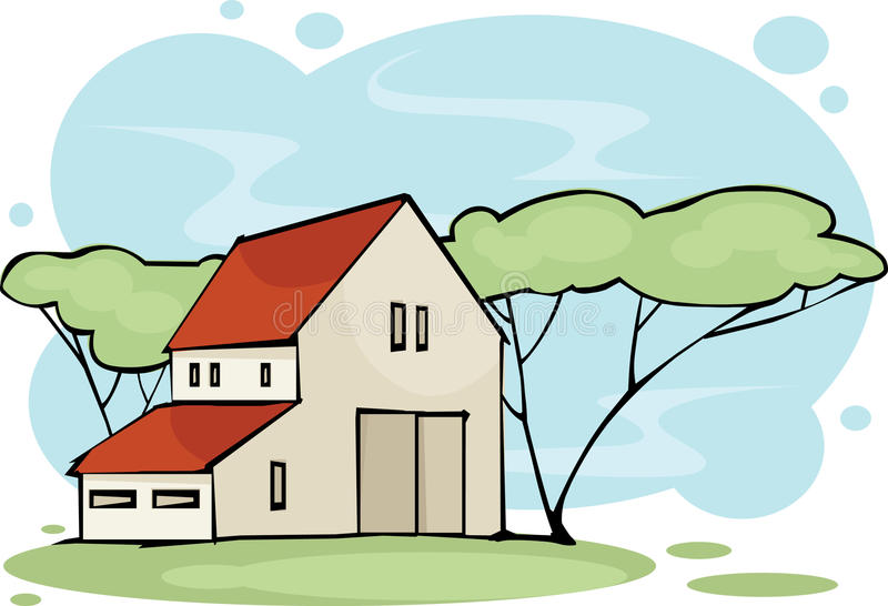 房子 免版税图库摄影