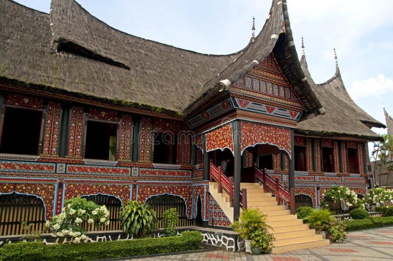 房子minangkabau 图库摄影