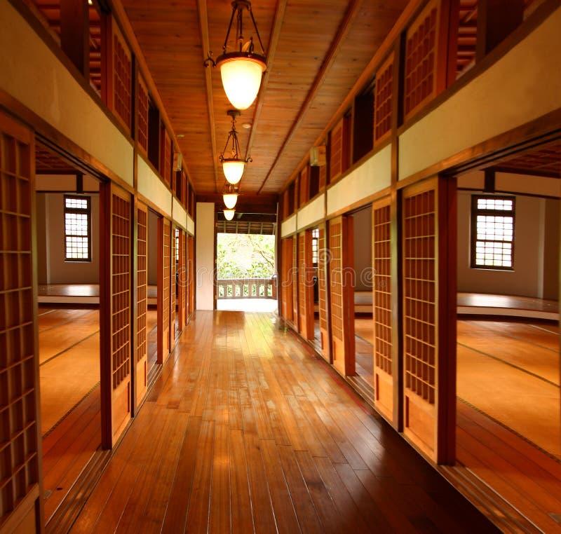 房子tatami 免版税库存照片