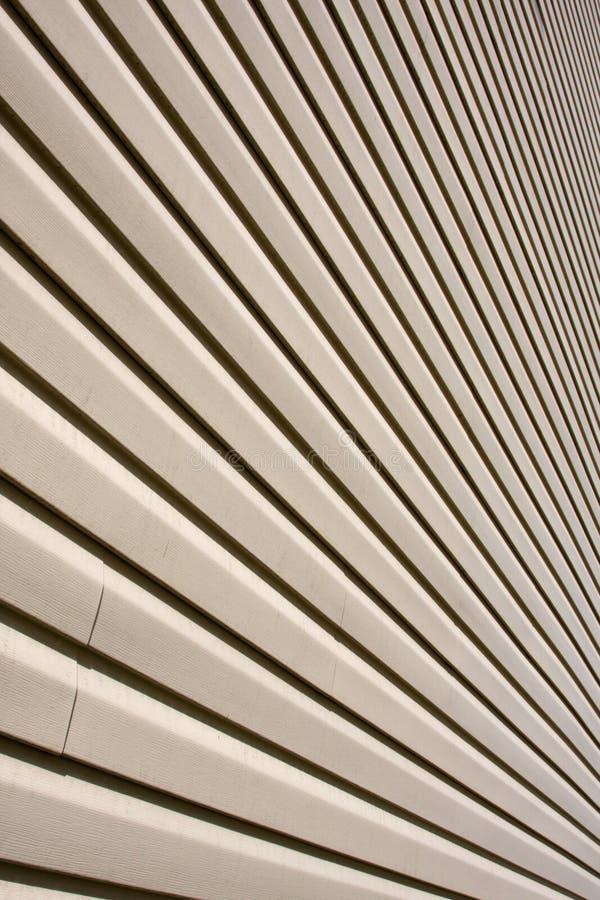 房屋板壁乙烯基 免版税库存图片