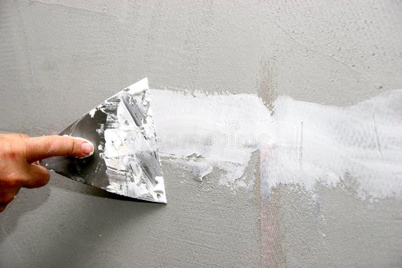 房屋油漆工 图库摄影