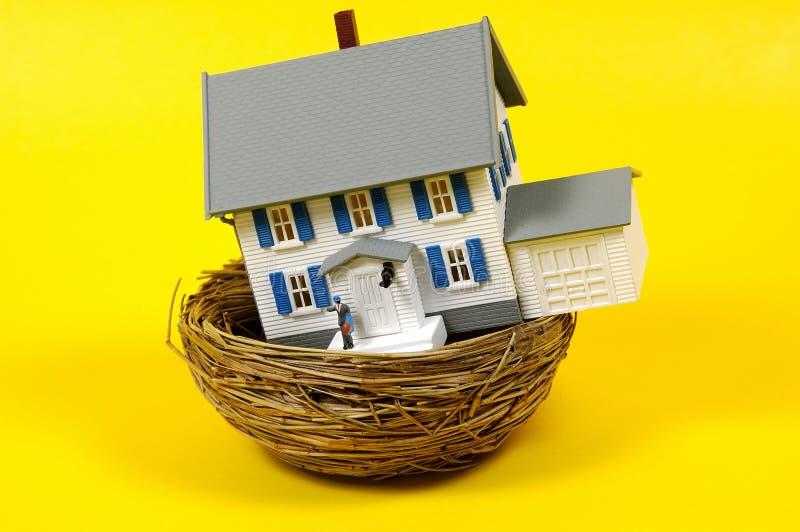 房屋贷款 库存照片