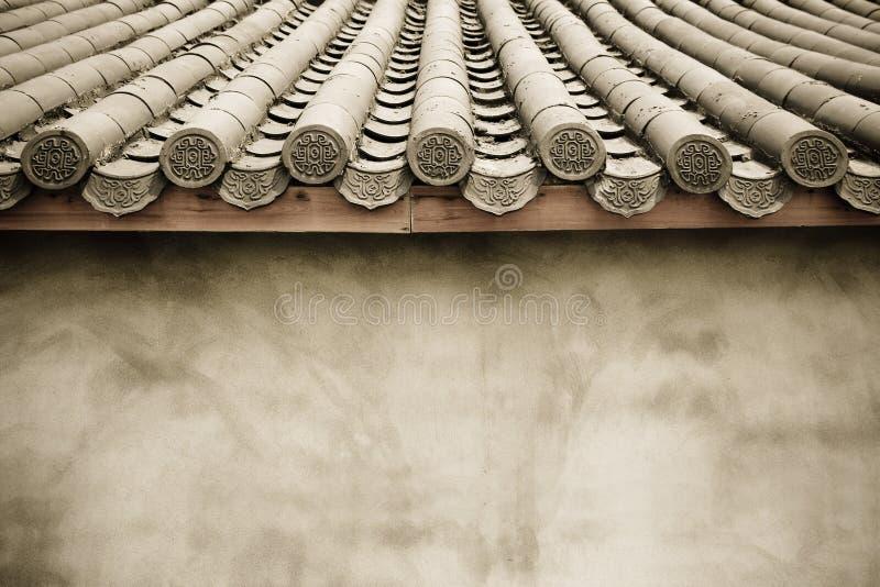 房檐墙壁 图库摄影