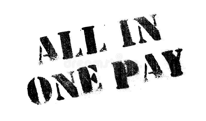 所有在一个薪水不加考虑表赞同的人 向量例证