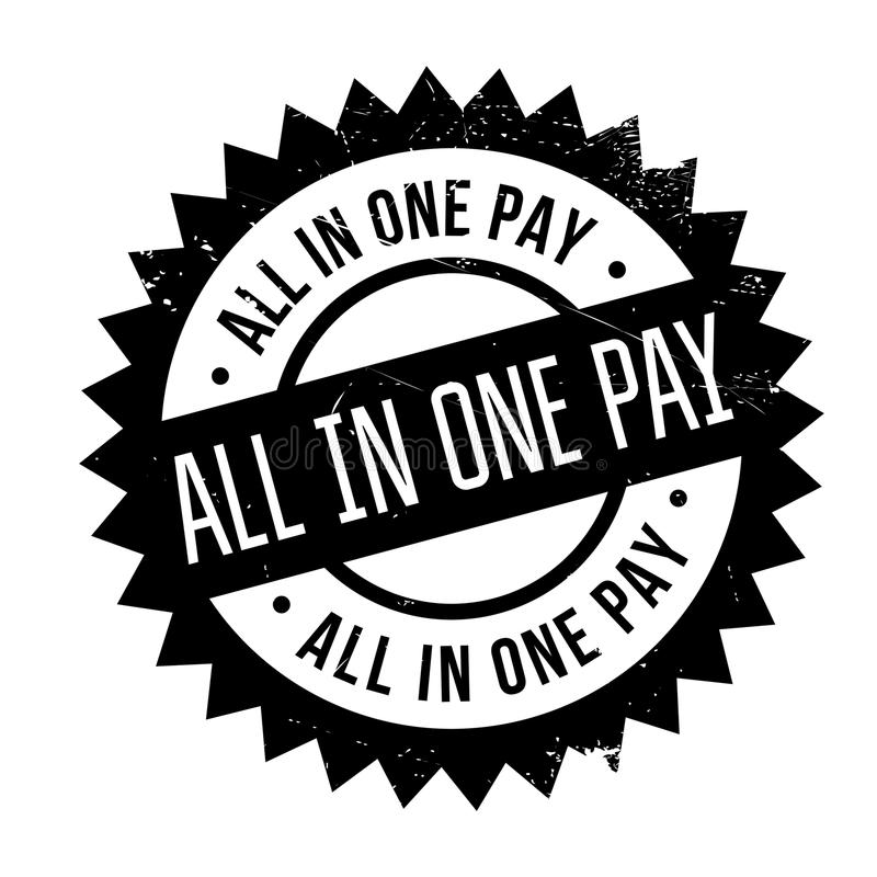 所有在一个薪水不加考虑表赞同的人 库存例证