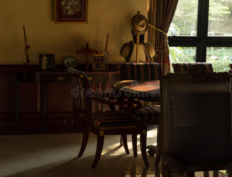 所有我自己的空间构造葡萄酒 免版税图库摄影