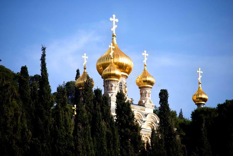 所有教会耶路撒冷国家 库存图片