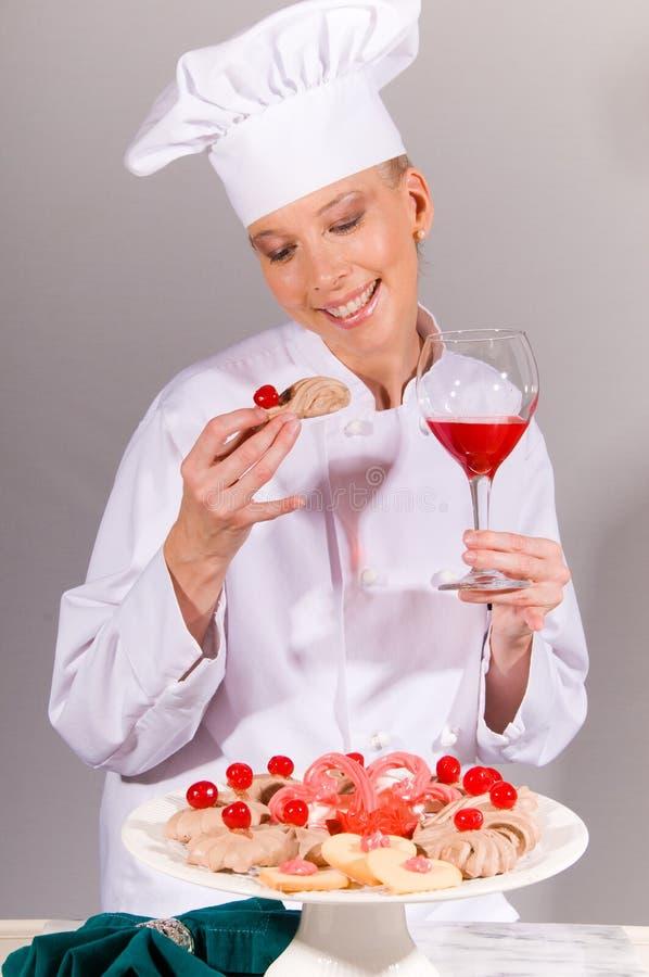 所有樱桃主厨 免版税库存图片