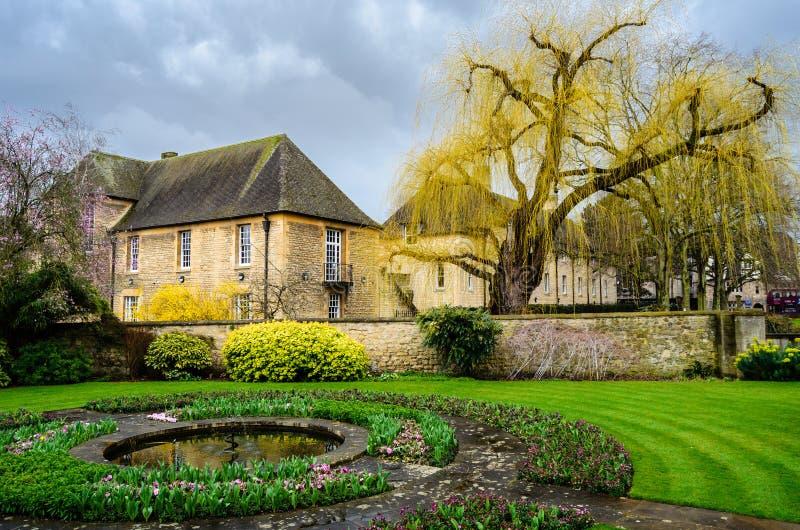 所有灵魂学院,牛津郡,英国,欧洲 免版税库存照片