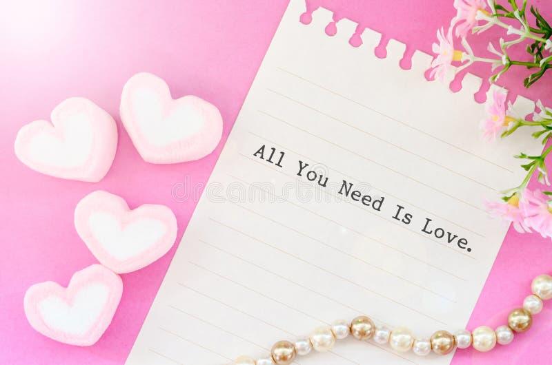 所有爱需要您 库存图片