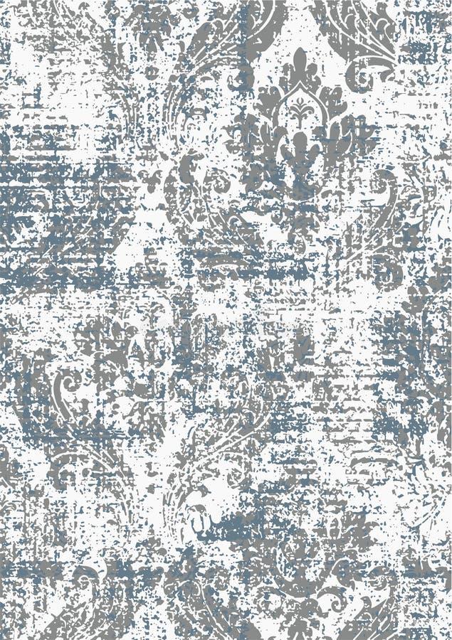 所有纺织品纹理的现代锦缎样式 库存例证