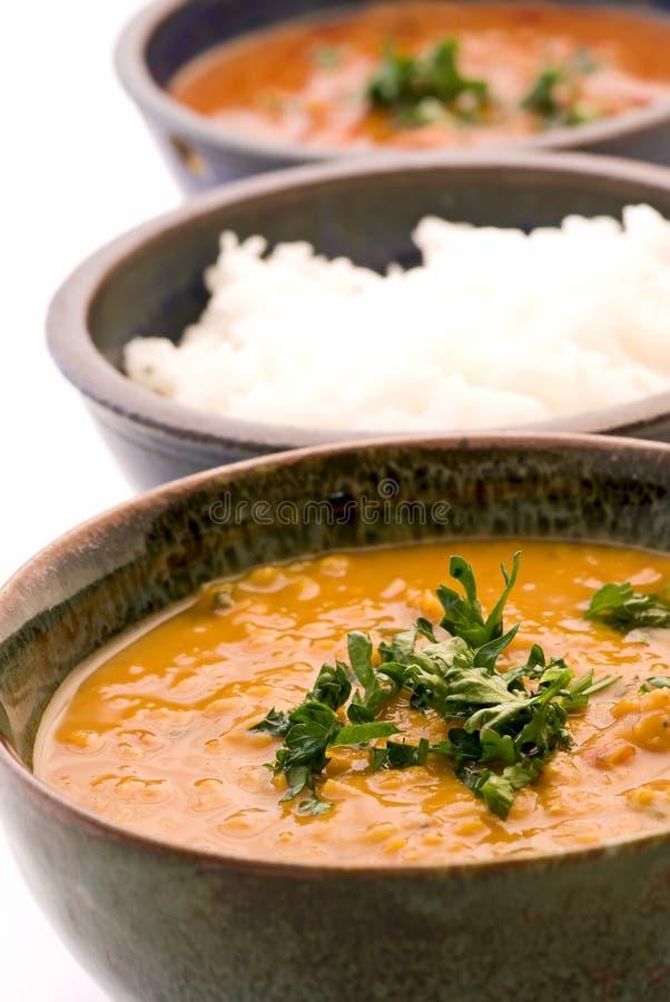扁豆米汤 库存图片