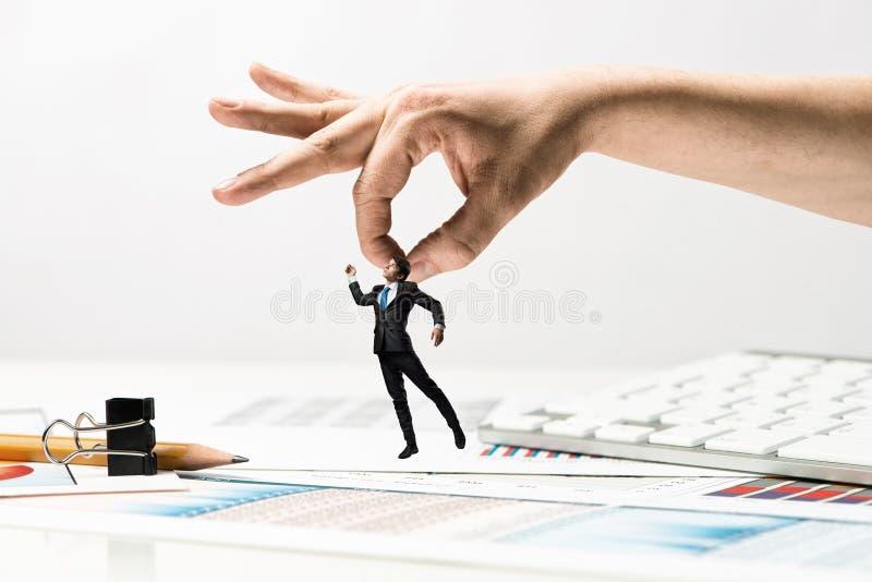 手传染性的人 免版税图库摄影