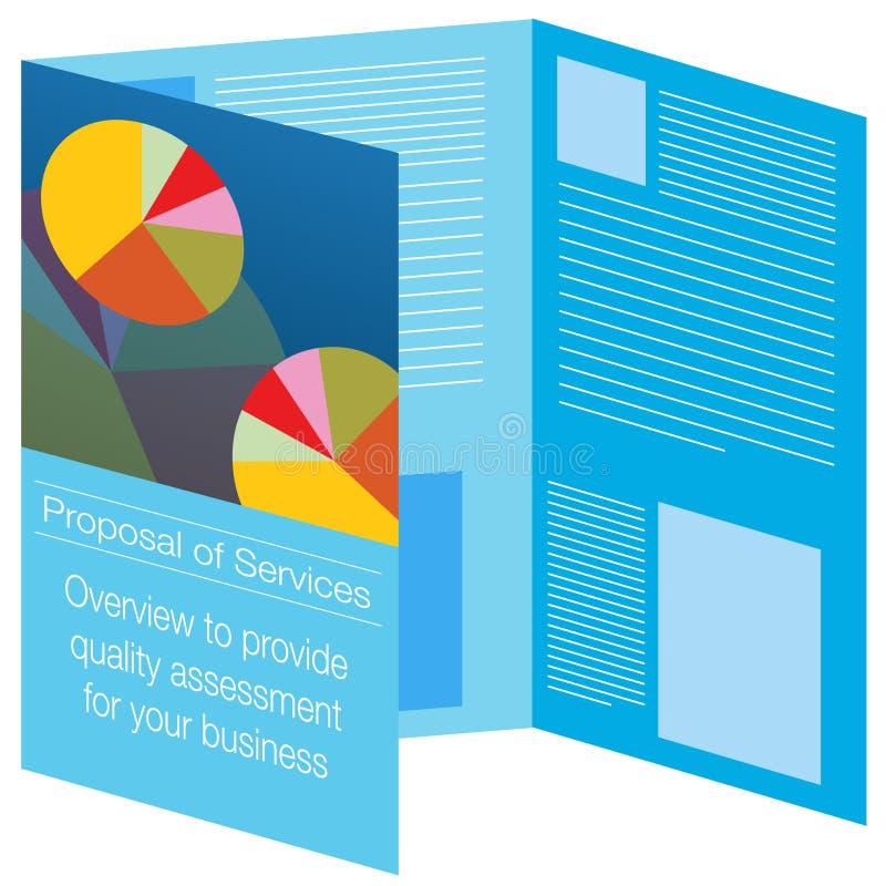 手册图标 向量例证