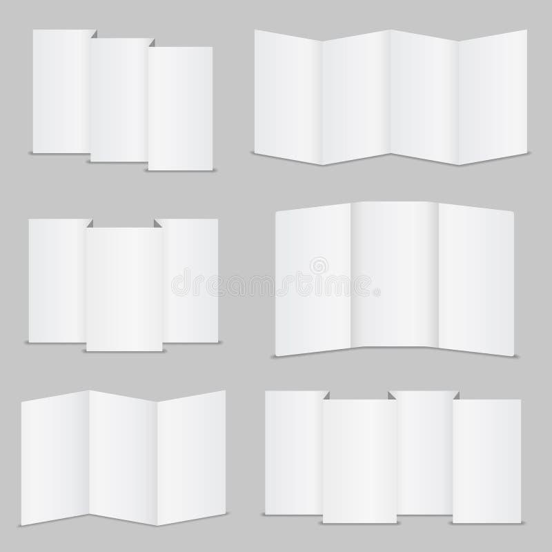 手册模板 向量例证