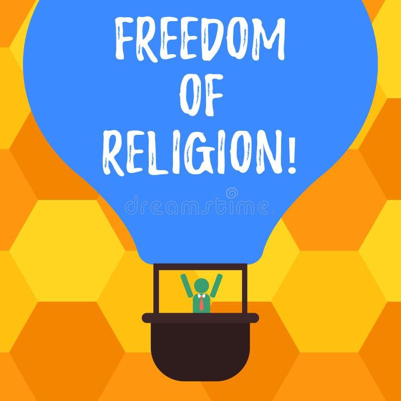 手写文本宗教信仰自由 概念意思权利奉行任何宗教一选择胡分析钝汉 皇族释放例证