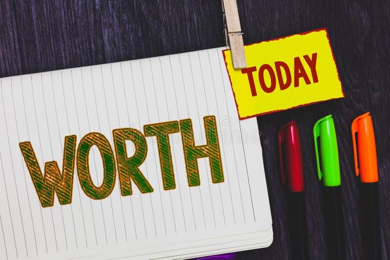 手写文本文字价值 概念意思测量个人和财政意义重要裱糊记号笔n 库存图片